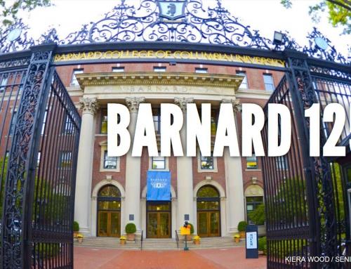 BARNARD SAYS BALD IS BEAUTIFUL!