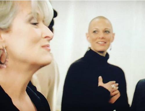 Bald Is Beautiful Wears Prada