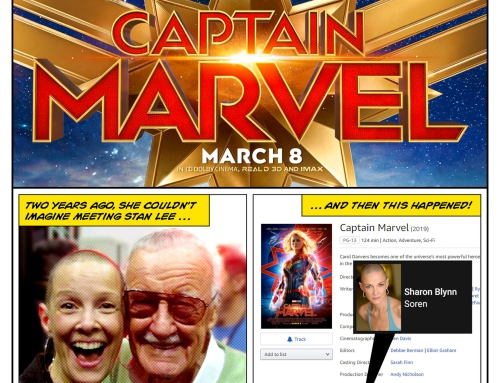 Captain Marvel Says Bald Is Beautiful . . .